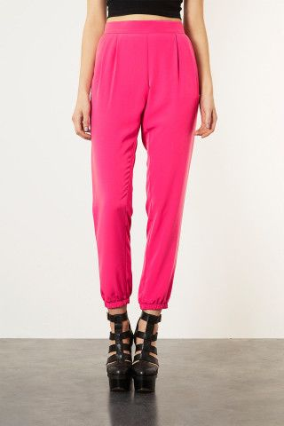 Relaxed Cupro Joggers - Pants - another color would be nice