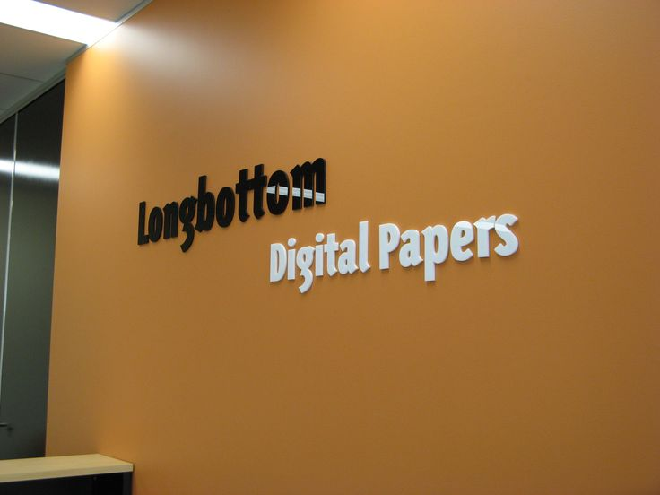Longbottom Digital Printers #CSI #3D #lettering #custom #sign #CAD #extrusion #signage #name #letter #word #corporate #school #recognition #identity #design