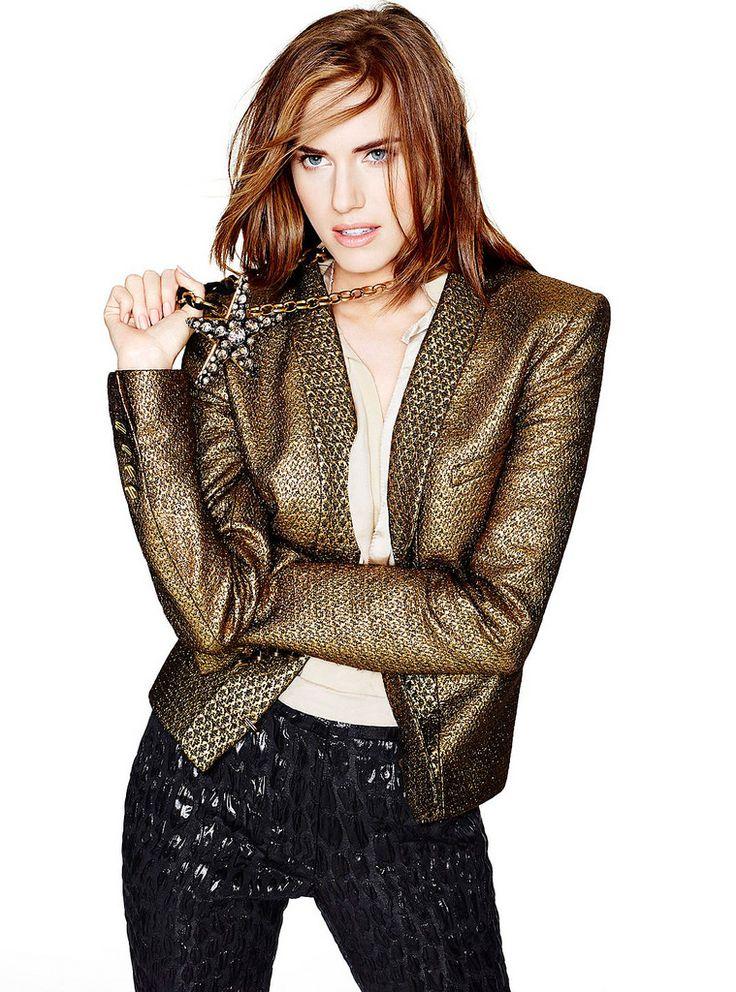Эллисон Уильямс — Фотосессия для «Glamour» 2014 – 3