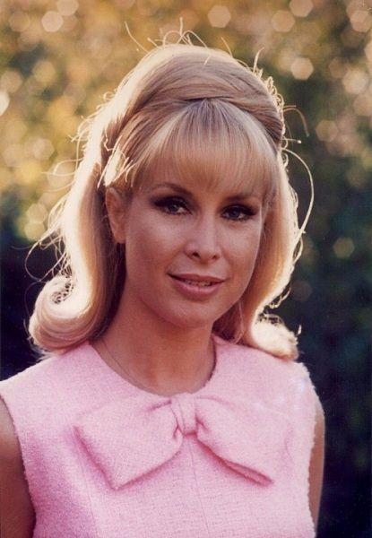Pretty in Pink - Barbara Eden with super cute flick ups, midlength hair and great height at the crown that is NOT teased.