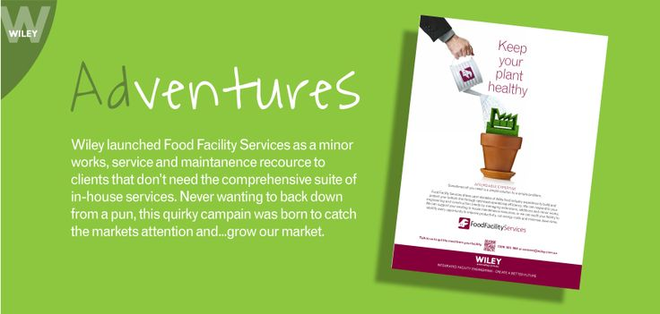 Food Facility Services ADventure #wiley