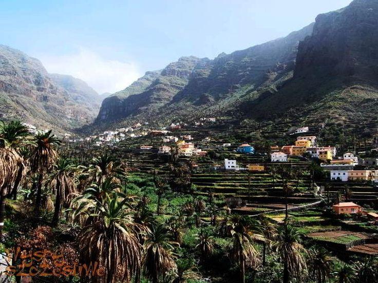 #ValleGranRey , żyzna dolina na południowym zachodzie wyspy #LaGomera otaczająca turystyczne miasteczko o tej samej nazwie.