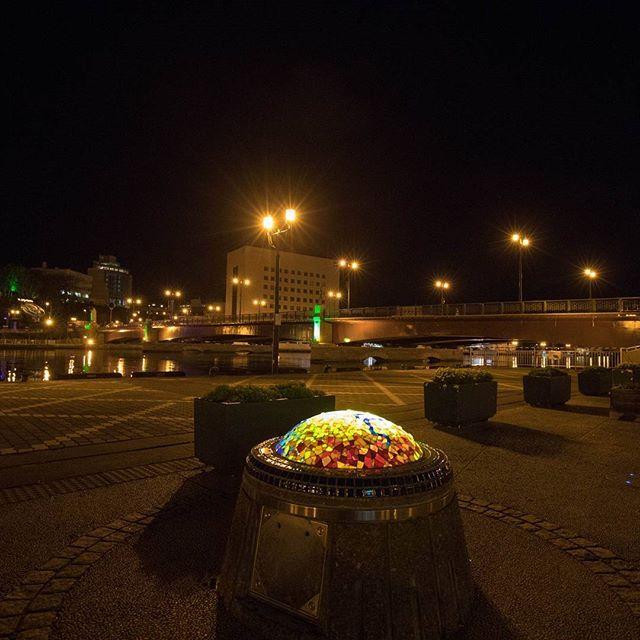 Instagram【tksn_83】さんの写真をピンしています。 《釧路 幣舞橋 にて  #釧路 #幣舞橋 #広い#夜景 #夜 #風景写真 #道路 #北海道#フルサイズ #eos5dmark4#東京カメラ部 #bestjapanpics #写真を撮るのが好きな人と繋がりたい #写真好きな人と繋がりたい #写真撮ってる人と繋がりたい#1人旅#キタムラ写真投稿》