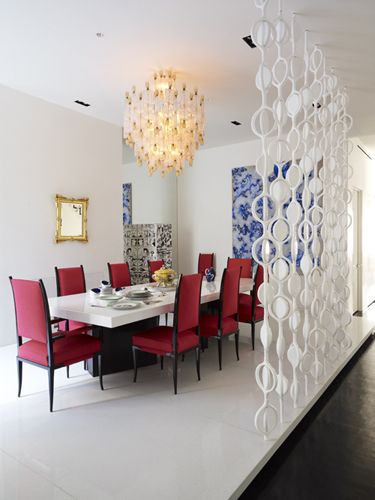 17 best images about dining rooms on pinterest beautiful for Jonathan adler interior design
