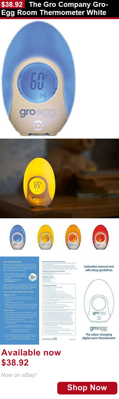 Baby Lamps And Shades: The Gro Company Gro-Egg Room Thermometer White BUY IT NOW ONLY: $38.92