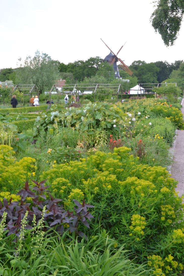 Slottsträdgården in Malmoe