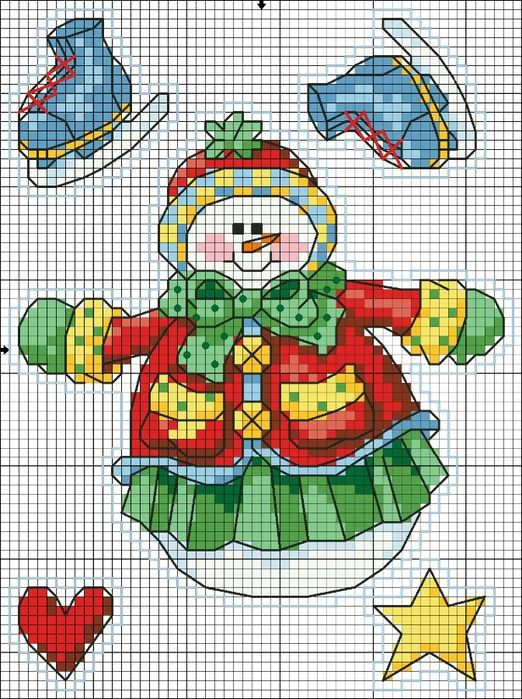 Cross Stitch *<3* Christmas chart