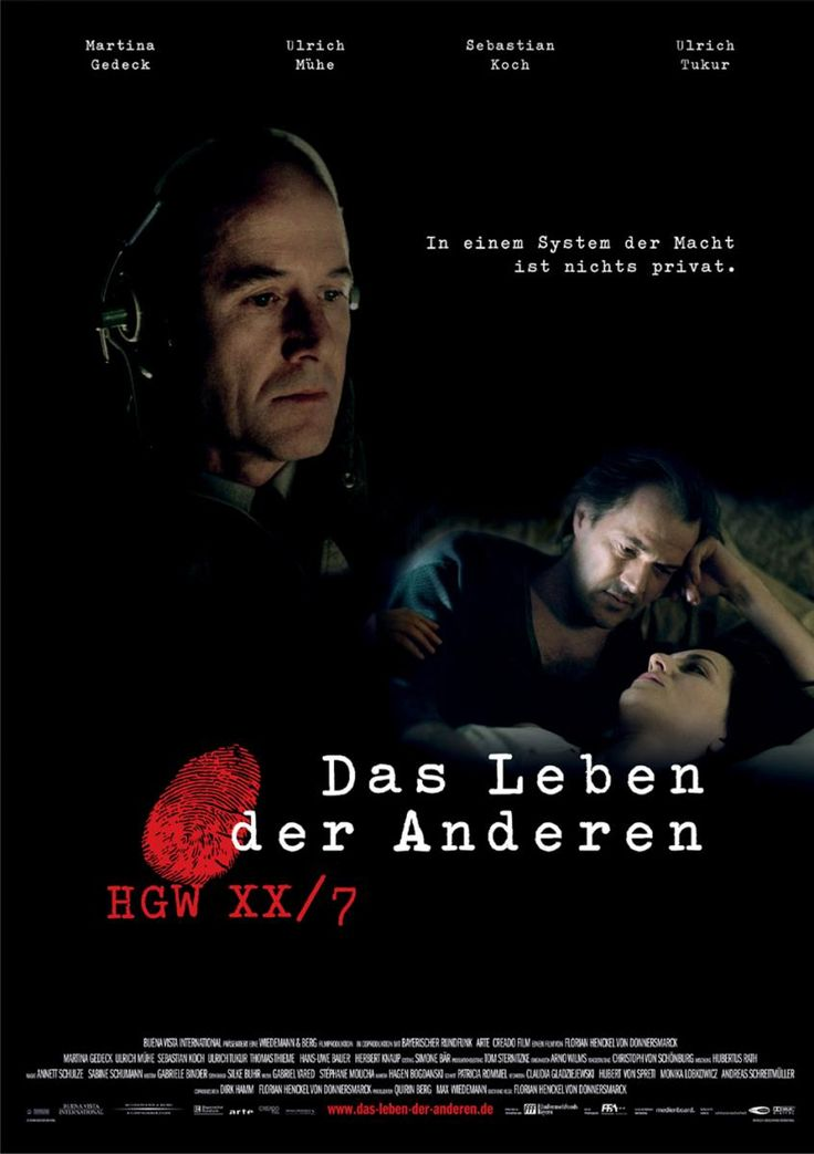 La vida de los otros (2006) - Director Florian Henckel von Donnersmarck