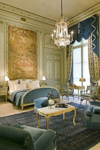 The Ritz, Paris. Originally the home of the Gramont family