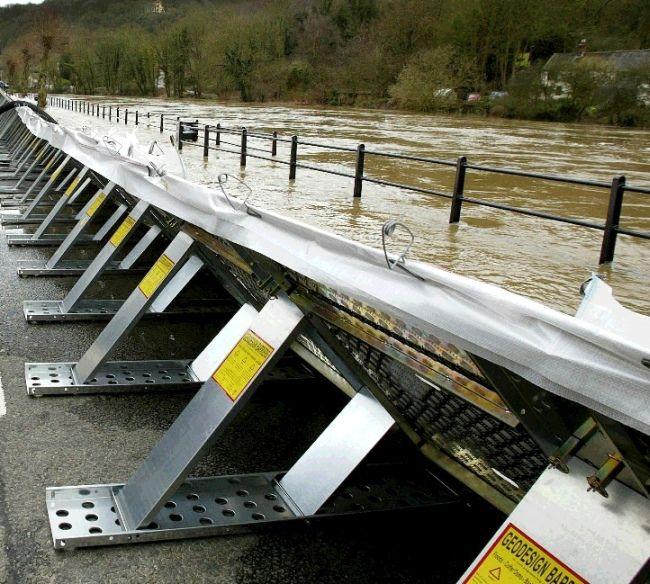 Flood Barrier, Geodesign Barrier, Floods