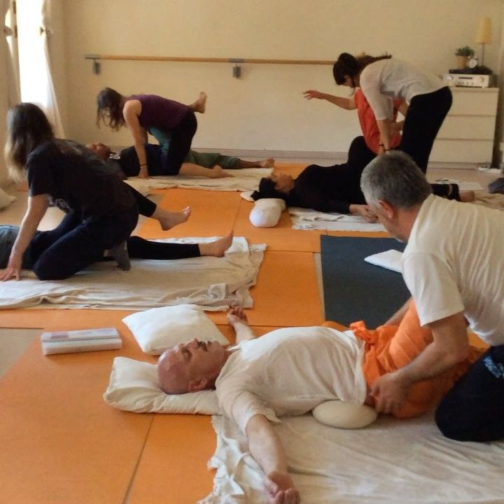 Saturthai :-). #thaiyoga #thai #massage #massagecourse #barcelona #bcn #today