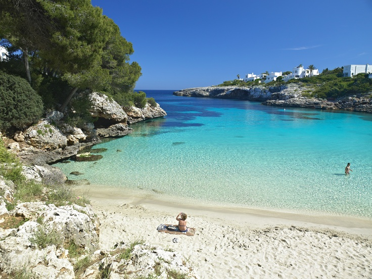 This is where we went for our vacation July 2014. Cala D'or, Mallorca Spain. So beautiful.