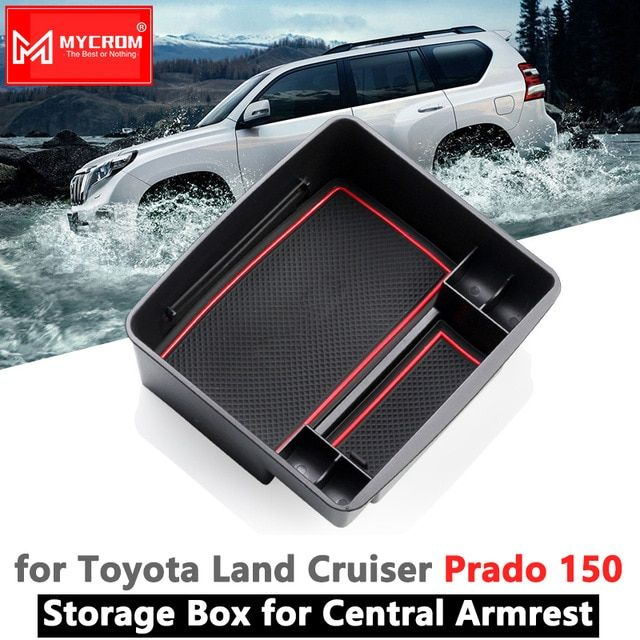 Armrest Box Storage for Toyota Land Cruiser Prado 150 Car