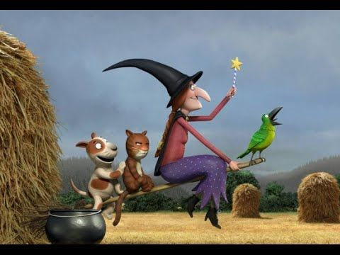 La Sorcière dans les airs en francais disney 2013 l Room on the Broom 2013 - YouTube