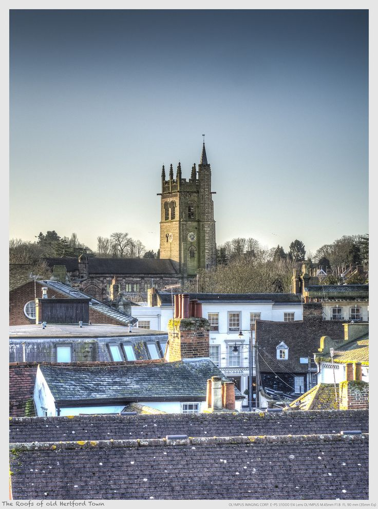 The Roofs of old Hertford Town by Nigel Lomas on 500px