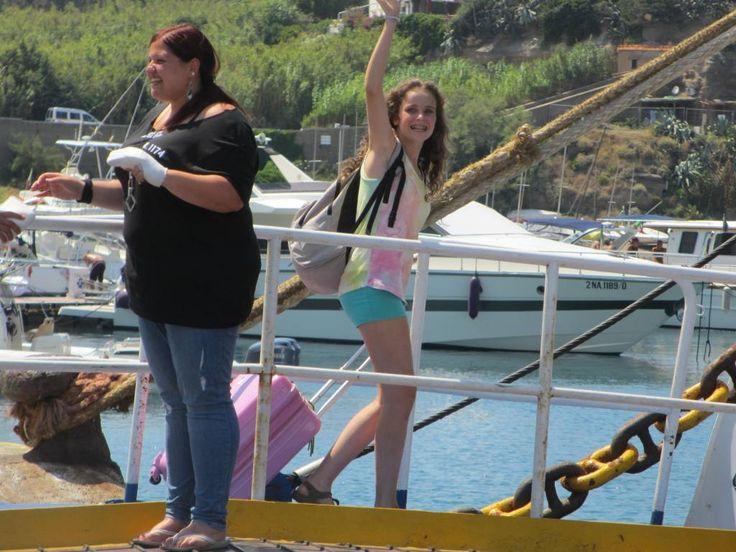 E' il momento di salire sul #traghetto...