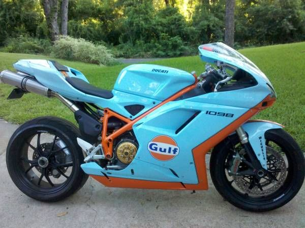 ducati 998r gulf livery | Find this Ducati 1098 with Gulf Livery for sale here on Craigslist in ...