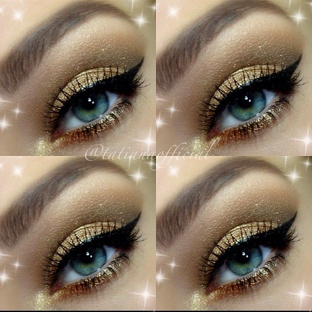 ♥ that winged eyeliner ! #makeup