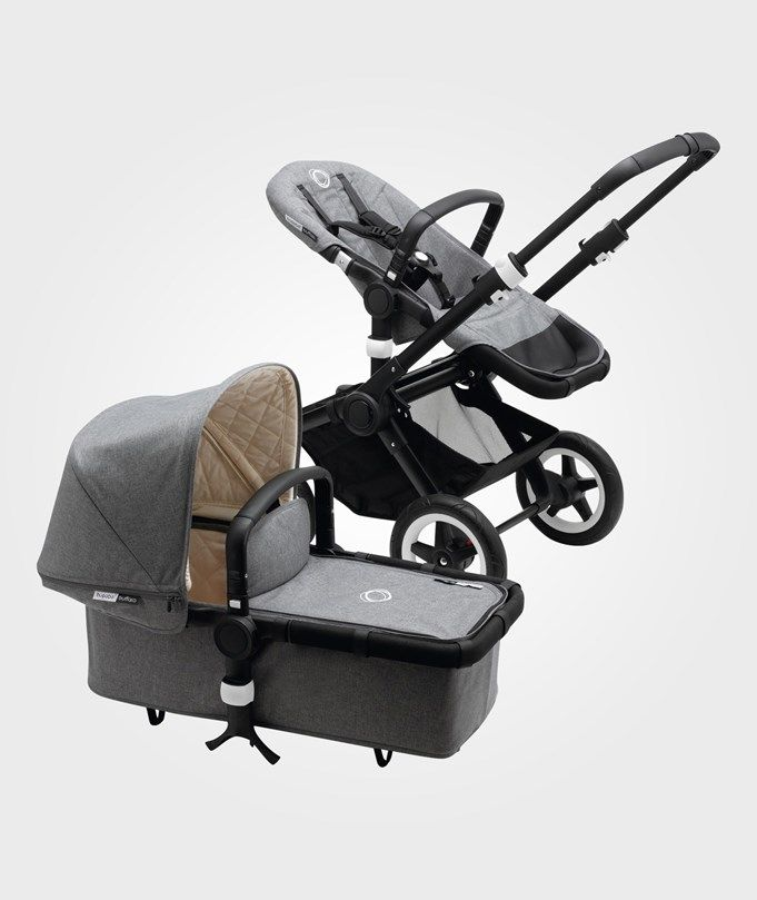 Bugaboo Buffalo Classic+ Collection complete Grey Melange Grey Melange