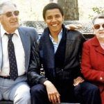 Barack Obama was raised by his mom and maternal grandparents after his Muslim Kenyan dad and American mom divorced in 1964.