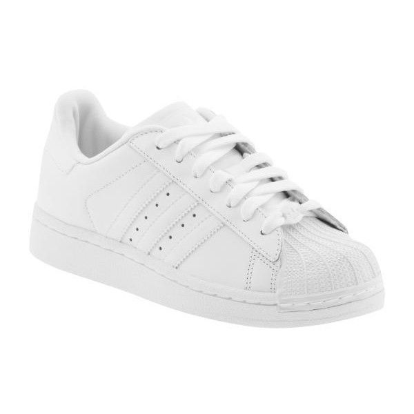 Adidas Superstar 2 Lace Up Athletic Shoes found on Polyvore featuring  polyvore, women's fashion,