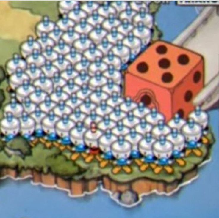 Oh! Así que eso pasa cuando hacen grupo para jugar cuphead con mas de dos jugadores!!!! XD
