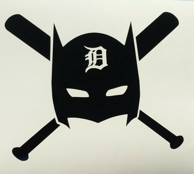 Detroit Tigers Batman decal sticker die-cut vinyl window bumper baseball comic | Sports Mem, Cards & Fan Shop, Fan Apparel & Souvenirs, Baseball-MLB | eBay!
