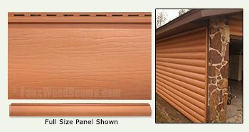 Vinyl Log Cabin Siding | Enhance Your Home with Faux Log Siding