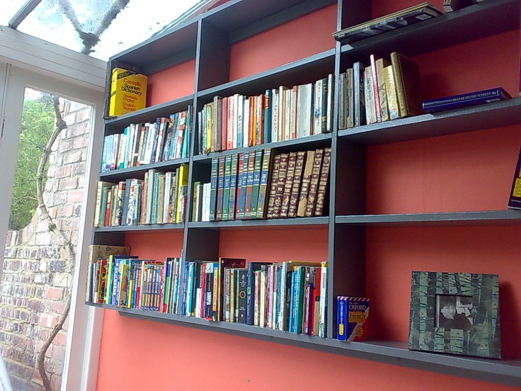DIY DVD/ Book Shelves   Living Or Dining Room?