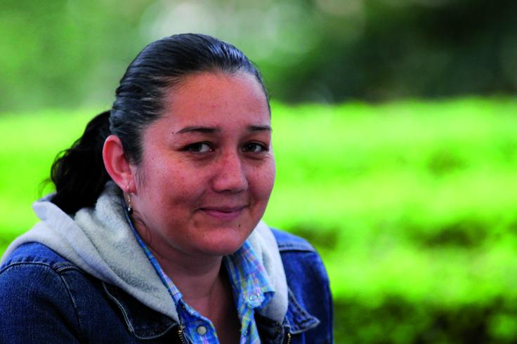 Mónica Gabriela Huertas Valero: ta bacterióloga, oriunda de Garagoa (Boyacá), hija de un comerciante y una licenciada en educación básica primaria, se siente muy satisfecha en su rol de investigadora. Hoy es becaria de Colciencias y avanza en sus estudios de Doctorado.