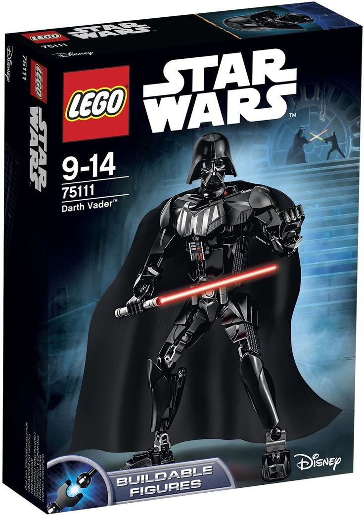 Lego Star Wars Darth Vader, £24.99, Jake's Toys (Petersfield)
