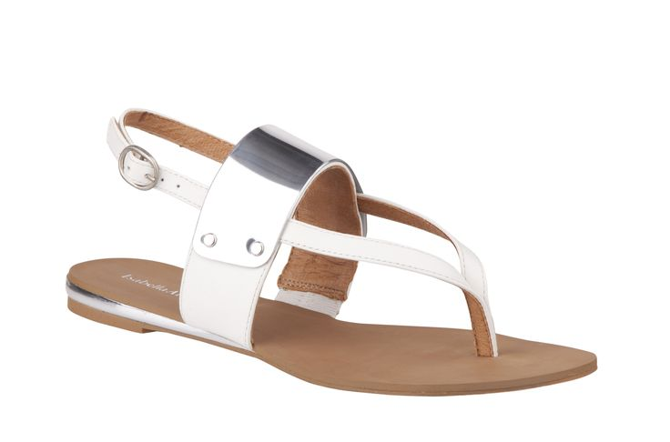 Overland Footwear - Isabella Anselmi - 'Josey' White and Black $119.90 nzd http://www.overlandfootwear.co.nz/josey-p-5195/colour/Black#colour=White