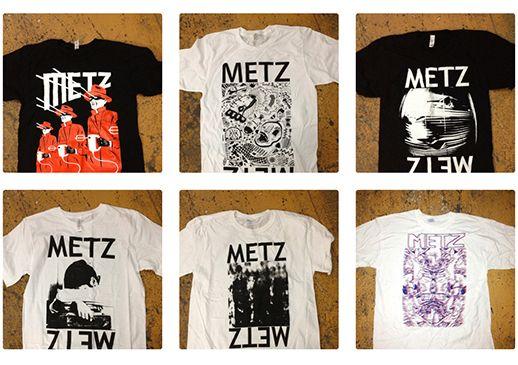 Metz T-shirt Merch