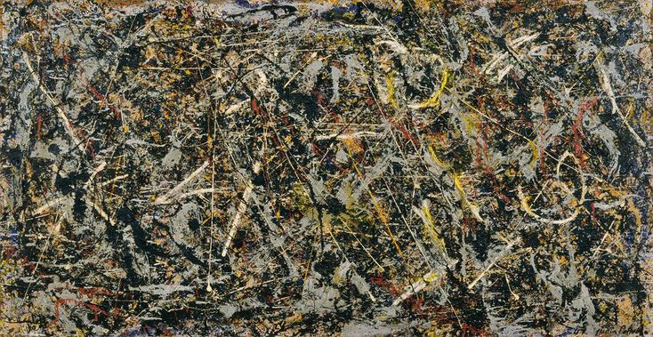 Alchemy, 1947 by Jackson Pollock large
