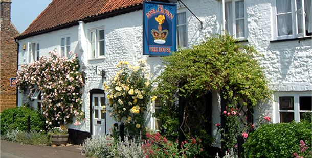 The Rose and Crown at Snettisham.