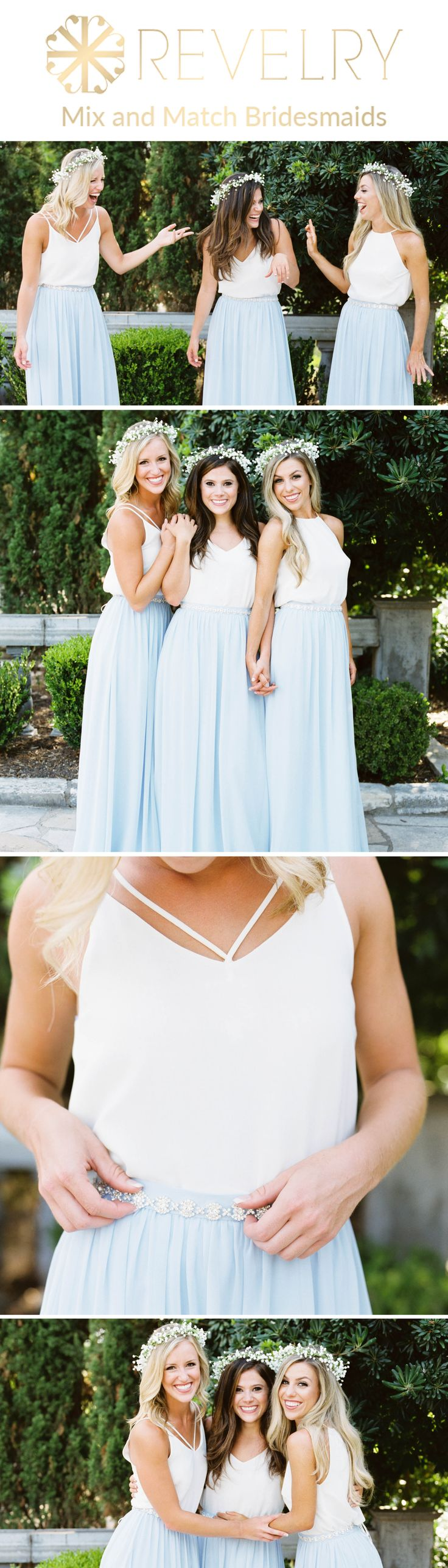 Mix and Match Revelry Bridesmaid Dresses and Separates.Revelry has a wide selection of unique bridesmaids dresses including tulle skirts, classic chif...