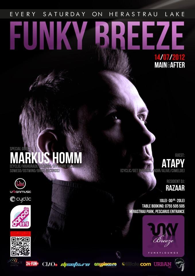 Saturday 14/07 @ Funky Breeze Herastrau