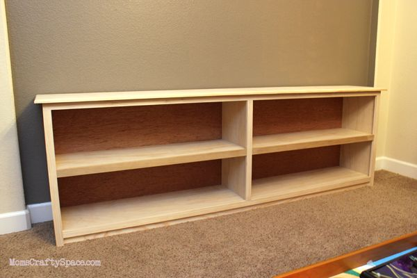 The long, low bookcase I want.  Doesn't have the plans, but saving for reference...