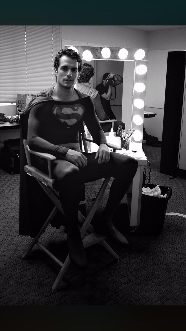 Henry Cavill in first test as Superman http://ift.tt/2p9zG7A #timBeta