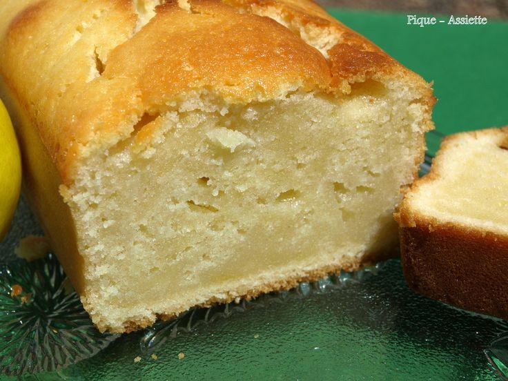 Cake au citron ultra moelleux. ( Recettes au Companion ou pas ...)