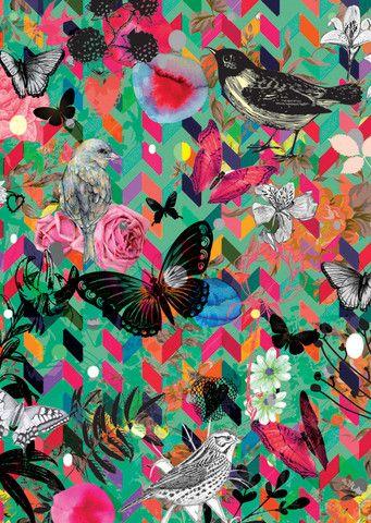 Spring Blooms Print  www.cloudninecreative.co.nz