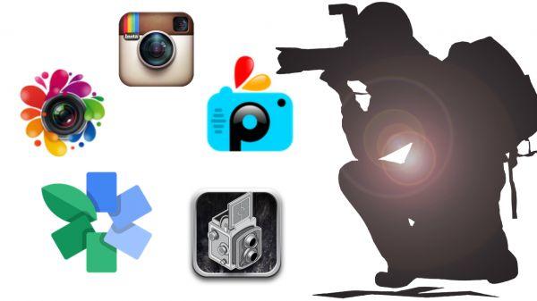 APPS PARA EDITAR FOTOS.(collage) Entre ellas: Mooklet, Fotobabble,Pizap ,Pixlr etc..... Pincha en la imagen para ver más apps