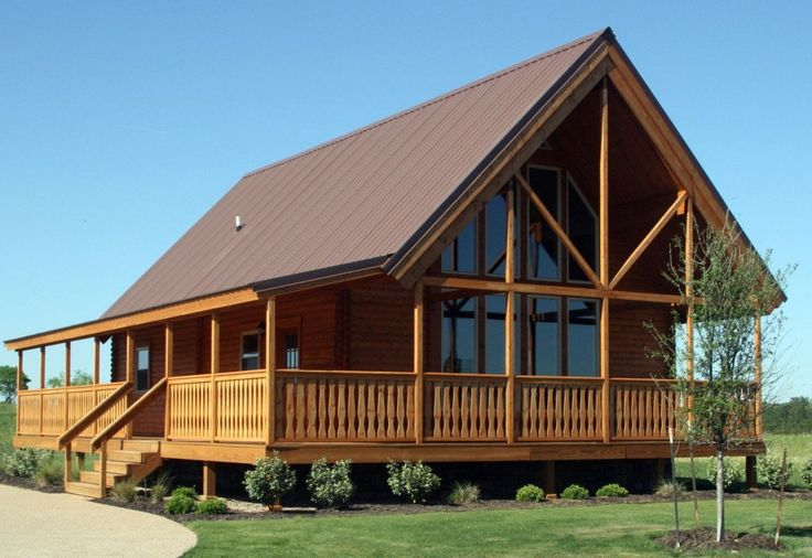 25 best ideas about log homes kits on pinterest log for Chalet cabin kits