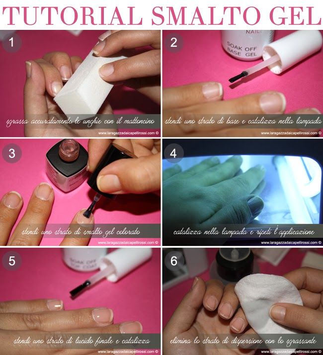 TUTORIAL UNGHIE: SMALTO SEMIPERMANENTE E NAILS FOIL