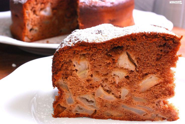 Spicy apple cake