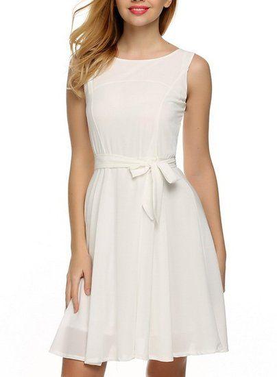 12+ Light Pretty White Dresses