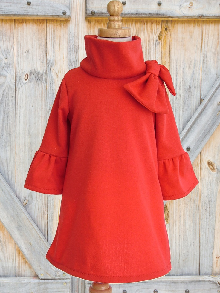 Girls Dress, PDF sewing pattern, Childrens Kids clothing pattern, Stretch Pattern, Girls Dress PDF, The Elke Dress, Sizes 1 to 12 years
