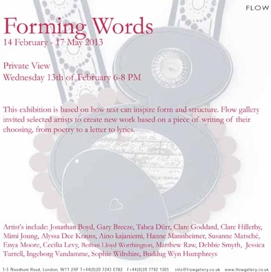 Forming Words - Flow