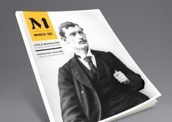 Much 150 magazine by Munch-museet. Pinned from www.redink.no.