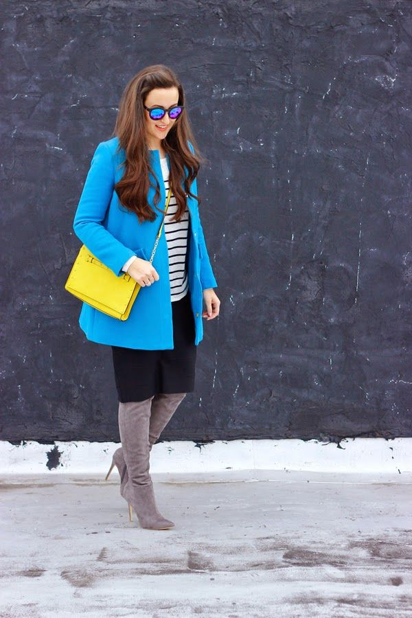 The Style Addition: BLUE + YELLOW + STRIPES